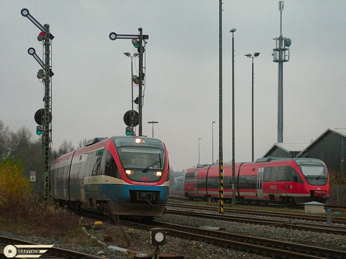 Vom Bahnhof Coesfeld aus